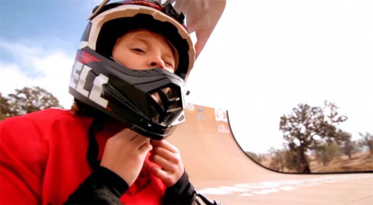 Jackson Goldstone, una joven promesa ciclista con un par... de pedales