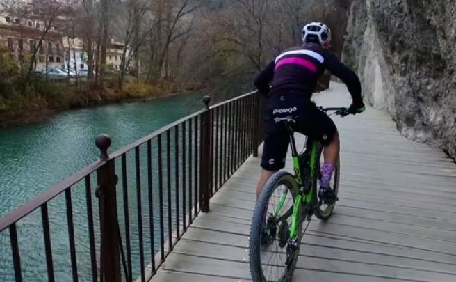 'JustRide', practicando ciclismo de montaña en Cuenca (España)