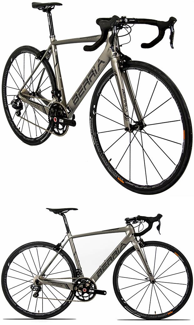 Keronite, un nuevo y exclusivo color para las bicicletas de Berria Bike