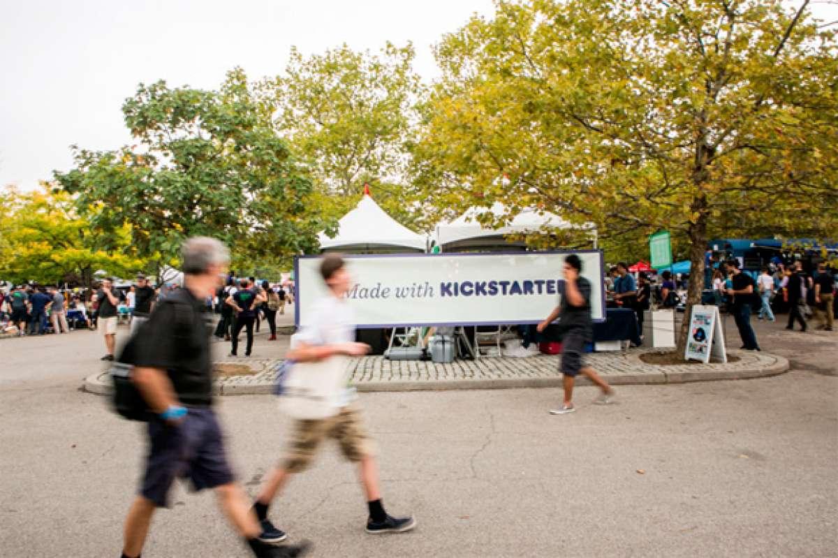Para ciclistas creativos: Kickstarter arranca en España a partir de junio