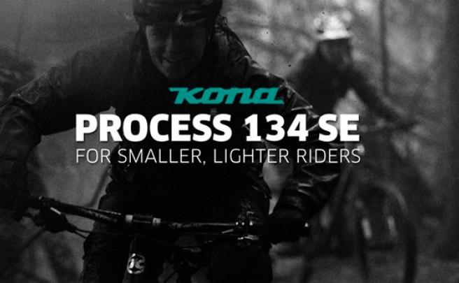 La nueva Kona Process 134 SE de 2015 en acción