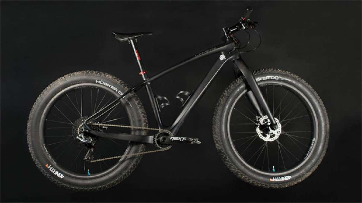 """Así es el cuadro """"Fat"""" de LaMere Cycles, probablemente el más ligero del mundo"""
