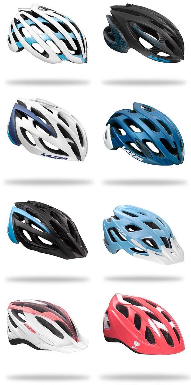 Lazer Moi, la nueva y completa colección de cascos femeninos de la firma belga