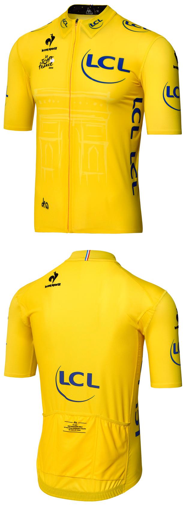 Nuevo maillot amarillo 'Tour de Francia 2015' de le coq sportif