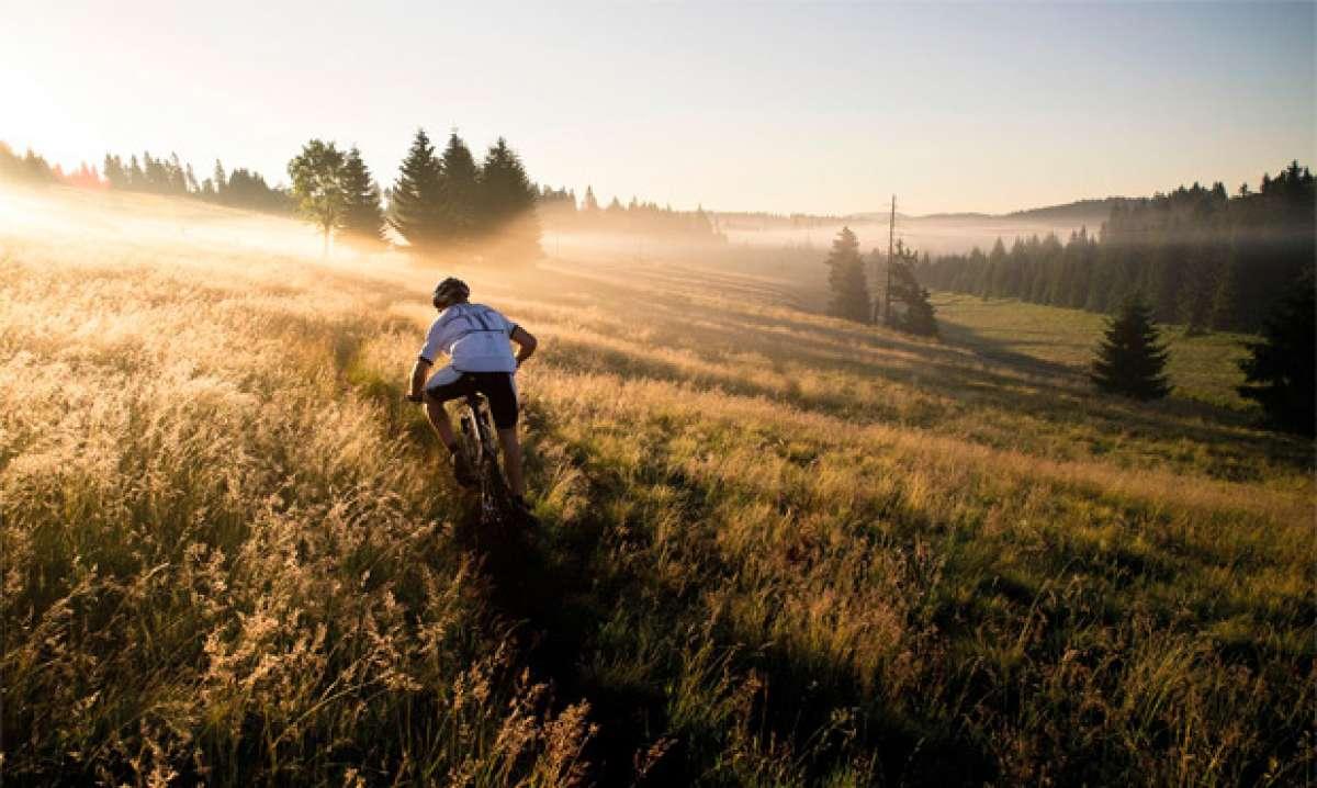 'Levántate y brilla'. Motivación deportiva extrema para salir a rodar