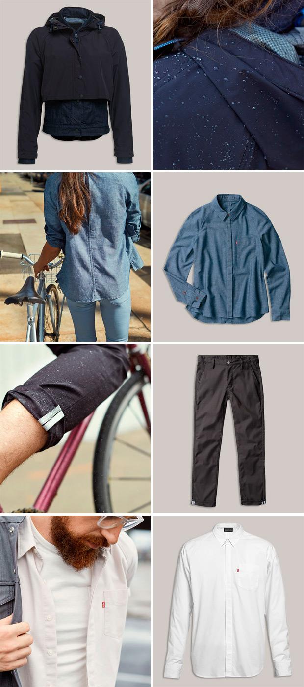 Levi's Commuter, una colección de ropa diseñada por y para ciclistas