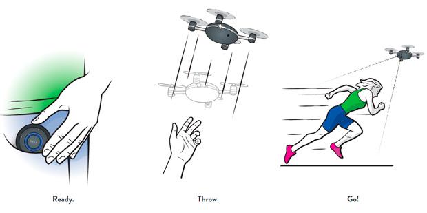 Lily, el dron que nos sigue (y graba) sin complicaciones añadidas