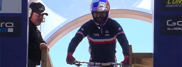 Así fue el descenso ganador de Loïc Bruni en el Campeonato del Mundo DHI 2015 de Vallnord (Andorra)