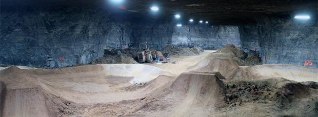 Louisville Mega Cavern, el 'Bike Park' subterráneo más grande (e increíble) del mundo