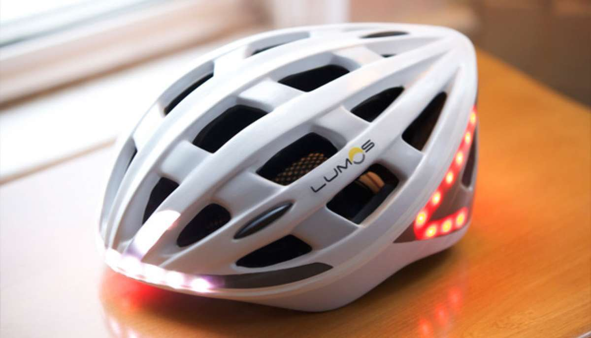 Lumos, un avanzado casco con iluminación LED integrada para rodar más seguros