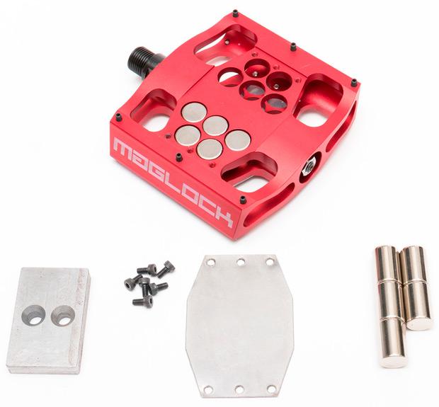 MagLOCK, un pedal de plataforma con anclaje magnético integrado