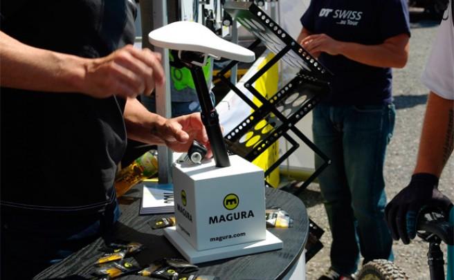 Magura Vyron eLECT, la primera tija telescópica inalámbrica ya está aquí