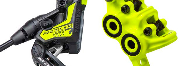 MT7 Raceline, edición limitada con el legendario color amarillo neón para los frenos más potentes de Magura