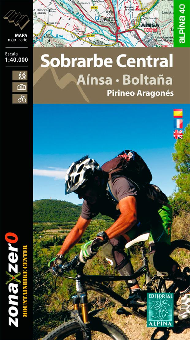 Nuevo mapa Alpina de la comarca del Sobrarbe con más de 1.000 kilómetros ciclables de Zona Zero