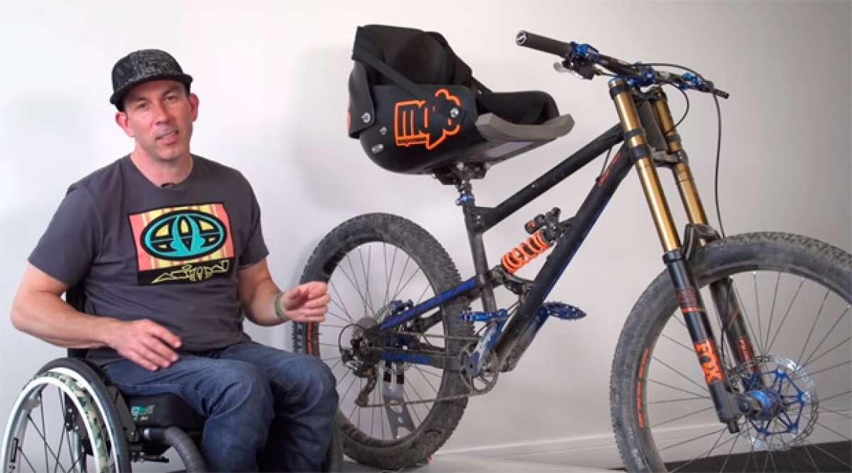 Así es la bicicleta con la que Martyn Ashton ha vuelto a rodar