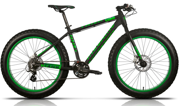 Megamo Fat Tank y Fat Great, dos 'Fat Bikes' de precio contenido para iniciarnos en las ruedas gordas