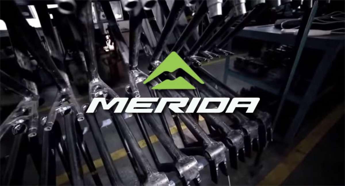 La historia de Merida Bikes y su proceso de fabricación de cuadros de carbono