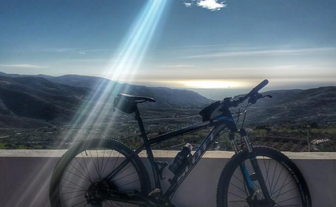 La foto del día en TodoMountainBike: 'Desde el mirador de Felix (Almería)'