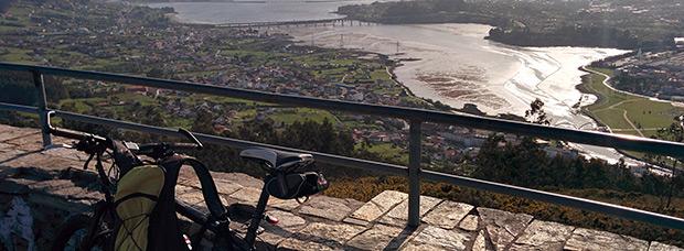 La foto del día en TodoMountainBike: 'La Ría de Ferrol desde el Monte Ancos'