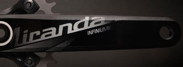 Miranda Infinium, un avanzado pedalier monoplato de peso ultraligero