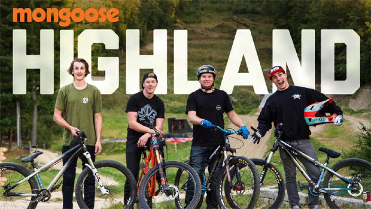 Diez minutos con los corredores de Mongoose en el Highland Mountain Bike Park