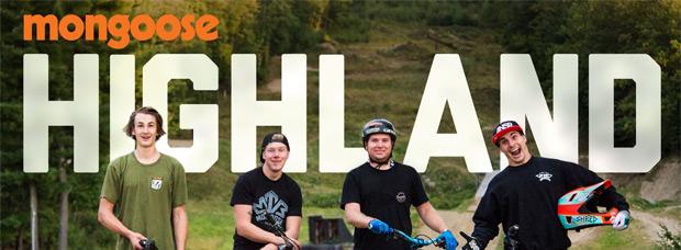 Diez minutos con los corredores de Mongoose en el Highland Mountain Bike Park