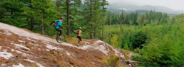 Rodando en la Columbia Británica con los mejores monociclistas del mundo