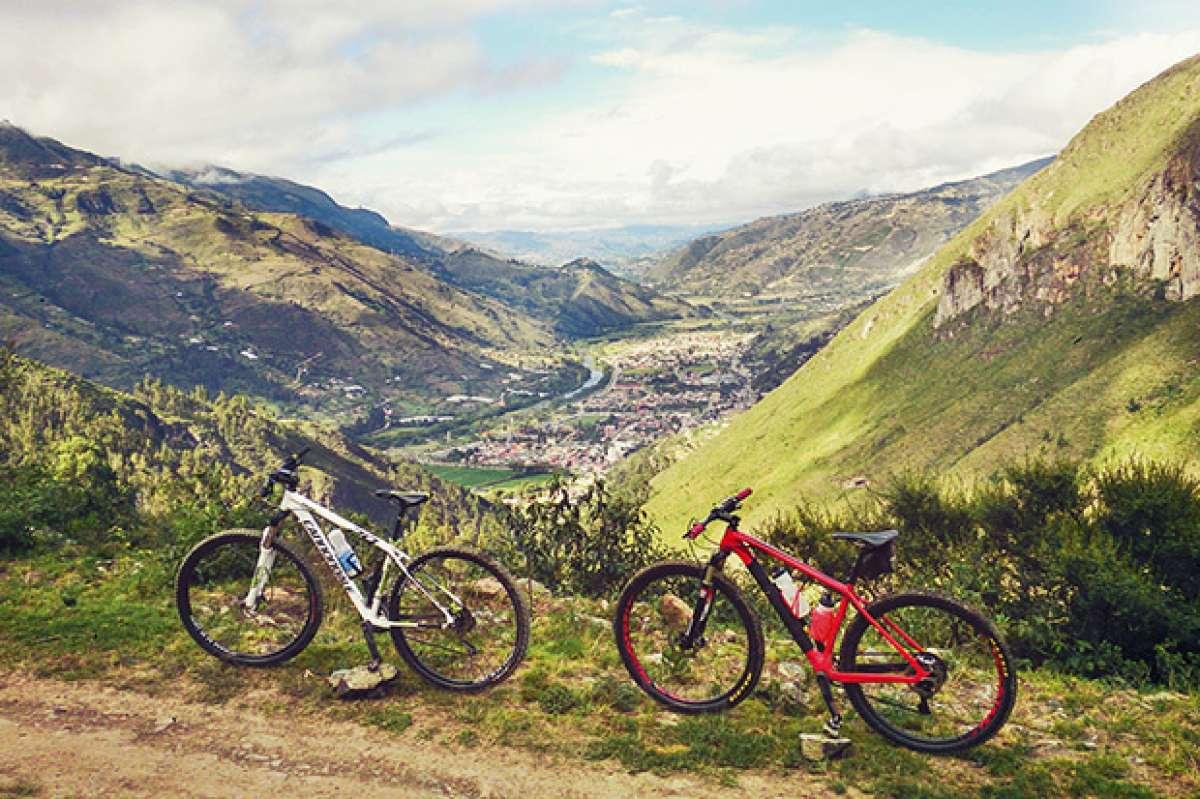 La foto del día en TodoMountainBike: 'Montañas de Paute (Ecuador)'