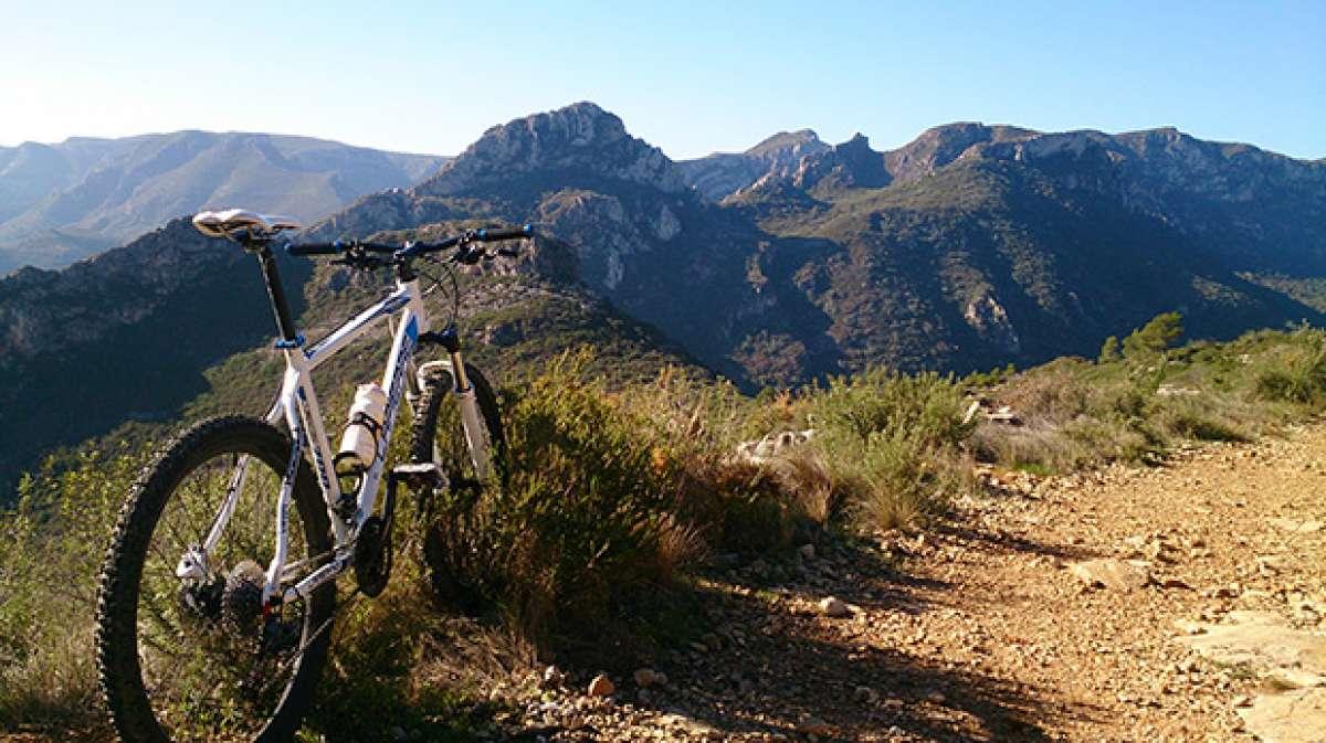 La foto del día en TodoMountainBike: 'Montes de Barx y Gandía'