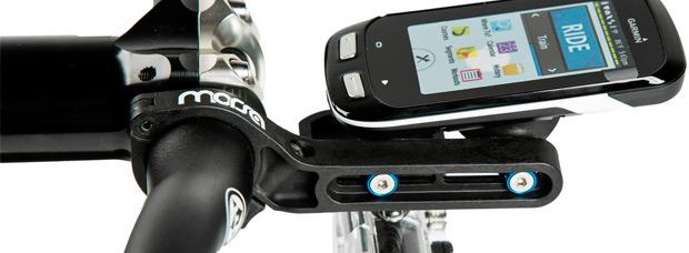 Morsa, soportes duales para integrar todo tipo de dispositivos en el manillar