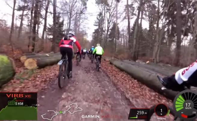 Cincuenta minutos de Mountain Bike subjetivo para amenizar nuestras sesiones de rodillo