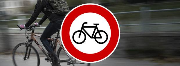 ¿Pueden multarnos cuando vamos en bicicleta? Sí, y estas son las multas más frecuentes