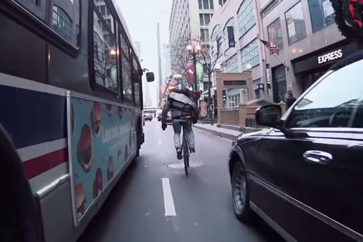 Rodando en Chicago con Nico Deportago-Cabrera, uno de los mensajeros en bicicleta más rápidos del mundo