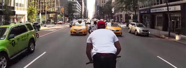 'GO!', BMX en primera persona por las calles de Nueva York con Nigel Sylvester