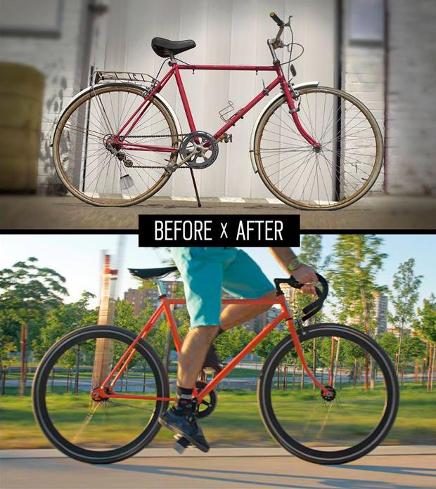 """Resucitando viejas bicicletas con el proyecto """"Back on the Road"""" de Oakley"""