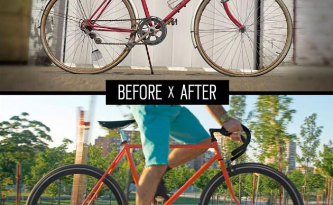 Resucitando viejas bicicletas con el proyecto 'Back on the Road' de Oakley