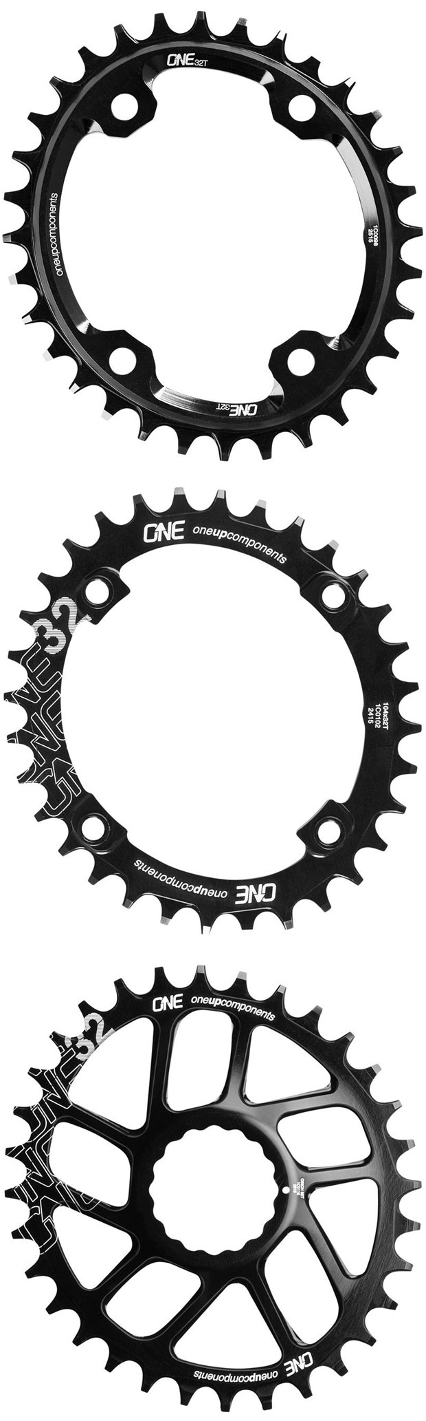 Traction Rings, la nueva gama de platos ovales con perfil 'Narrow-Wide' de OneUp Components