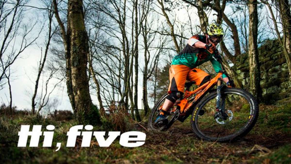 La nueva Orange Five de 2015 en acción