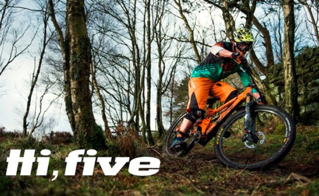 La nueva Orange Five de 2015 en acción