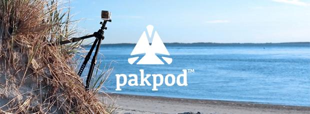Pakpod, un trípode de acción diseñado para la aventura