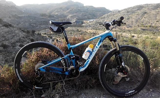La foto del día en TodoMountainBike: 'El Pantano de Elche (Alicante)'