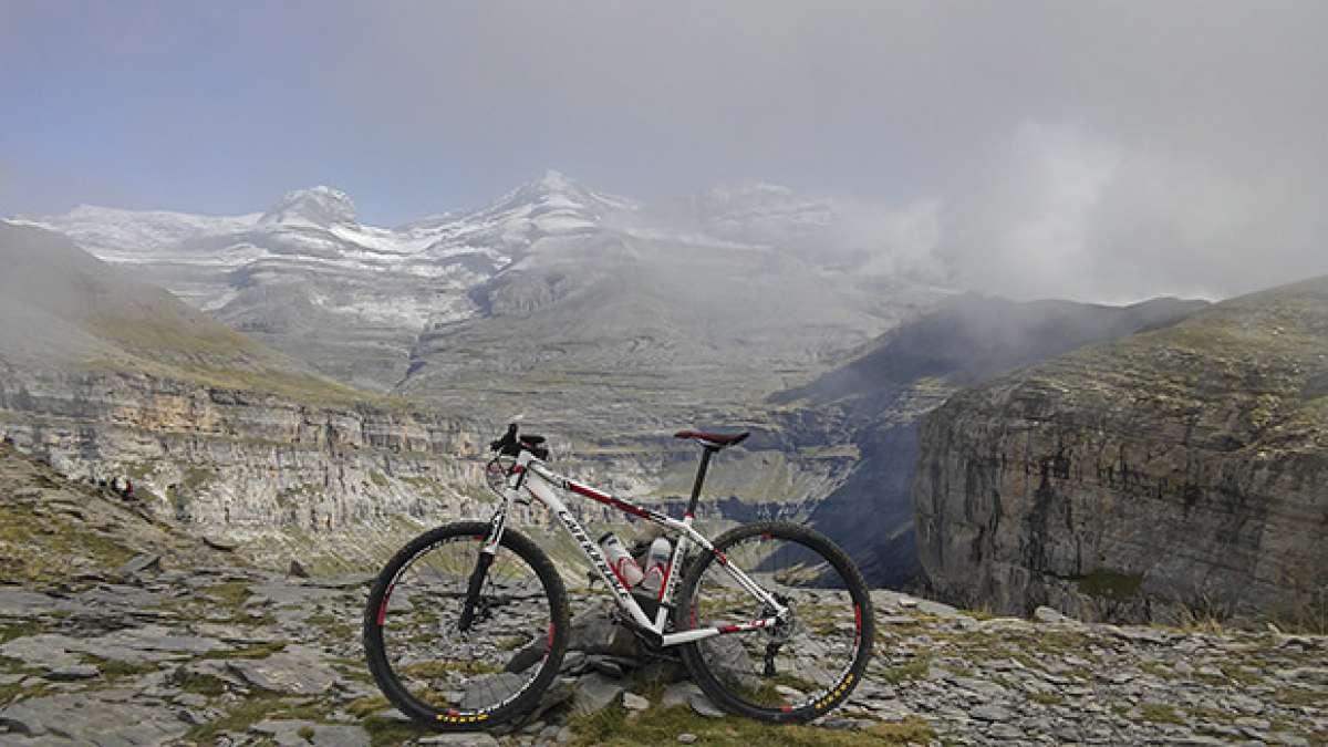 La foto del día en TodoMountainBike: 'En el Parque Nacional de Ordesa'