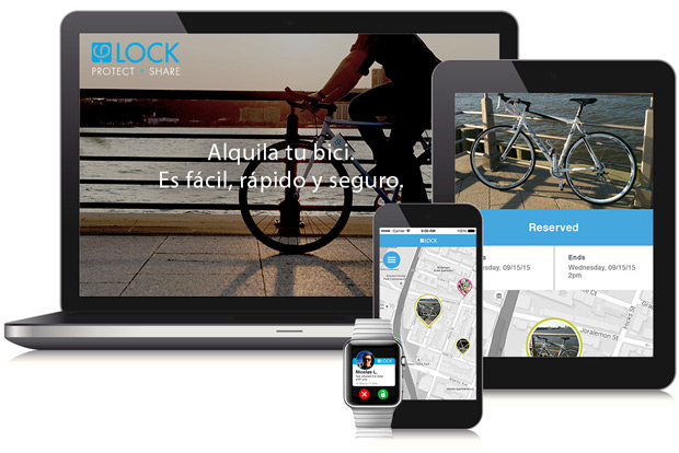 PhiLOCK, un nuevo sistema para facilitar el alquiler de bicicletas entre particulares