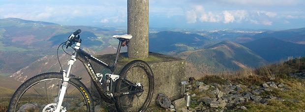 La foto del día en TodoMountainBike: 'Pico Estoupo'