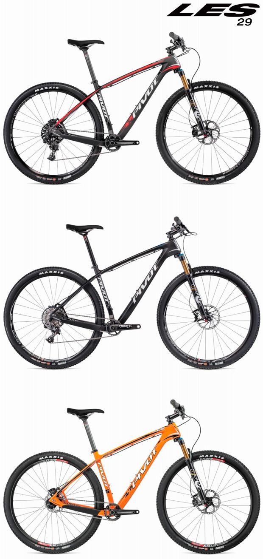 Pivot LES Carbon 2015: Versiones de 27.5 y 29 pulgadas para la máquina más rodadora de Pivot Cycles