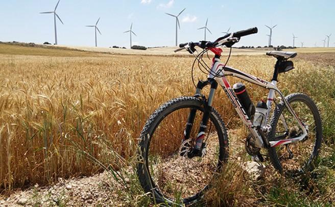 La foto del día en TodoMountainBike: 'La Plana de María de Huerva (Zaragoza)'