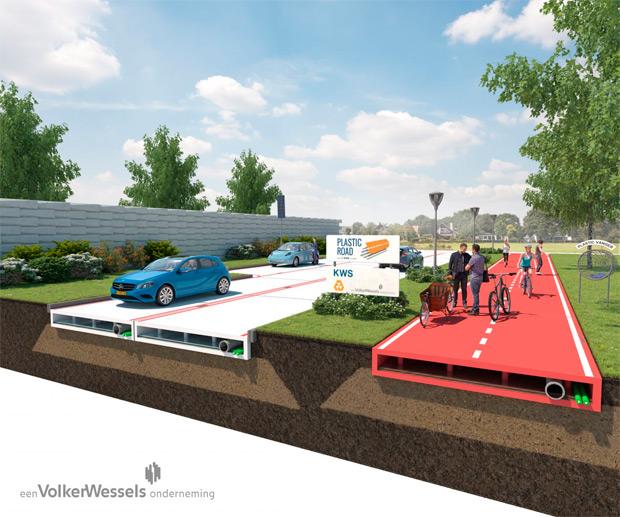 ¿Carreteras de plástico en un futuro sostenible?