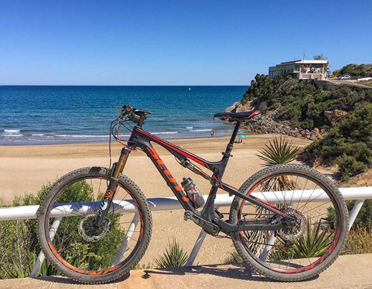 """La foto del día en TodoMountainBike: """"Playa de la Concha en Oropesa del Mar"""""""