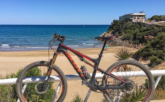 La foto del día en TodoMountainBike: 'Playa de la Concha en Oropesa del Mar'