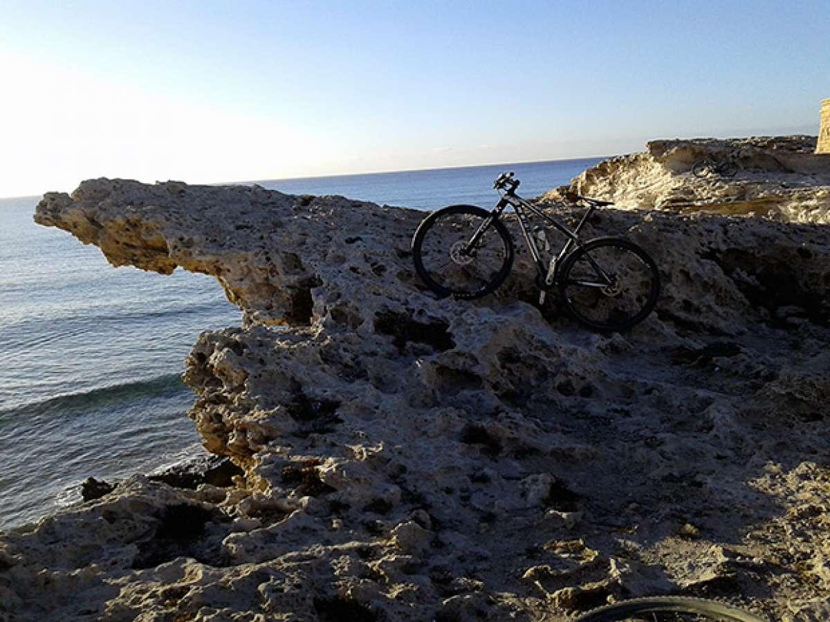 """La foto del día en TodoMountainBike: """"Playa de Los Escullos"""""""